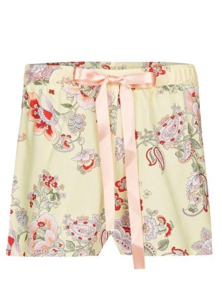 Shorts in Viscose Voile vanilla Blütenzauber Bloomy RINGELLA