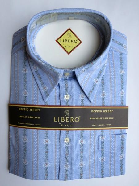 LIBERO CLASSIC Jerseyhemd hellblau Edelweiß