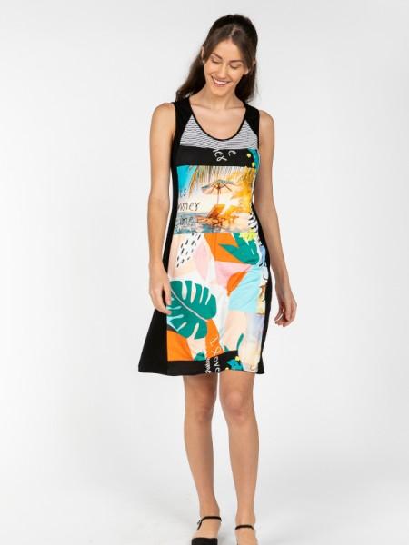 Luftiges Kleid mit Trägern LIFE - SENORETTA