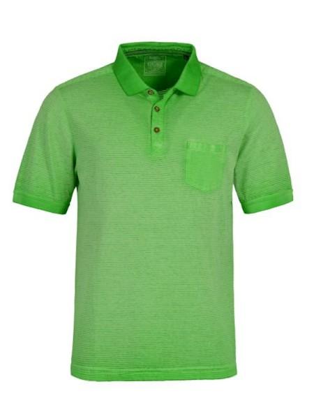 Sportliches Poloshirt für Herren in apfelgrün hajo