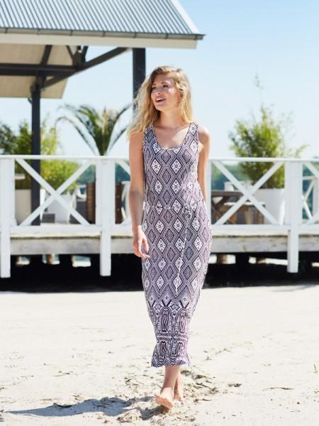 langes Kleid für Beach und Freizeit pastunette