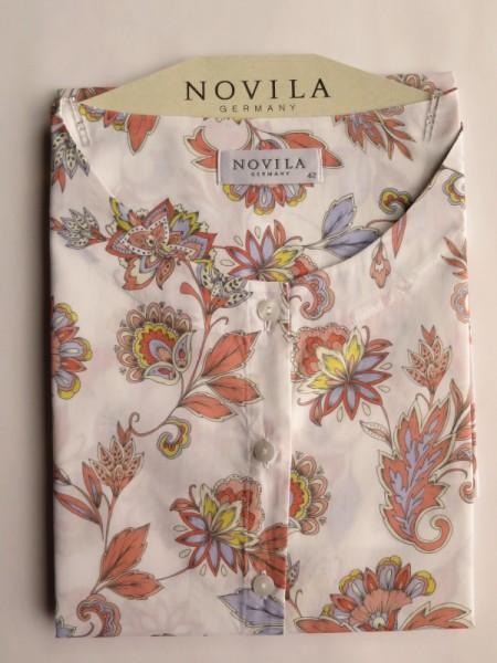 Damen Nachthemd Anna Baumwolle Batist Paisley NOVILA