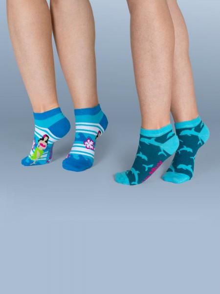 Sneakers Doppelpack - SUMMER SEA - unabux