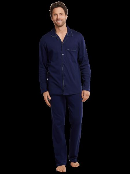 Herren Pyjama in 100% Baumwoll-Jersey Seidensticker