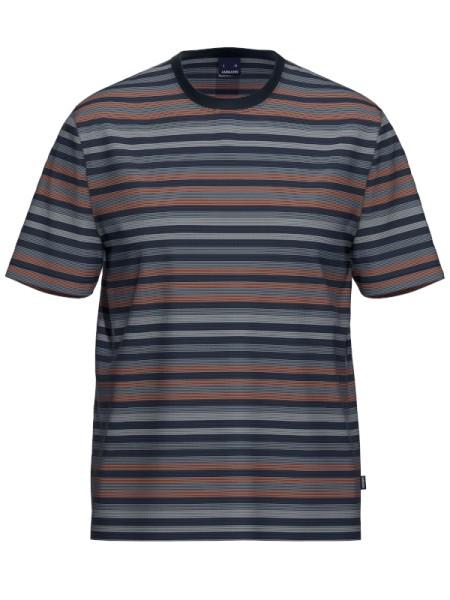 Herren T-Shirt 1/2 Arm Bio Baumwolle Mix & Match RIngel AMMANN