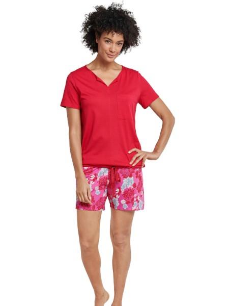 Damen Shorty Baumwolle / Modal rot - Seidensticker