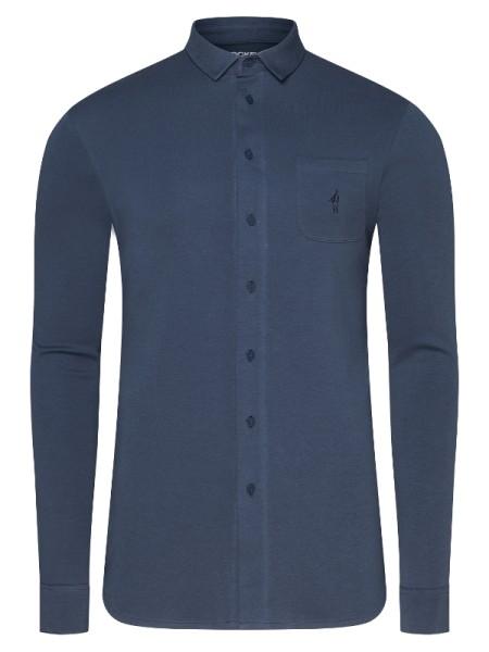 Jersey Hemd 100% Cotton marineblau JOCKEY