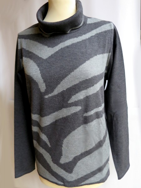Damen Pullover Modal anthrazitgrau - SIEGEL